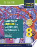 Complete English for Cambridge Lower Secondary 1: Stage 8