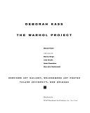 Deborah Kass  the Warhol Project