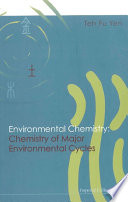 Environmental Chemistry Chemistry Of Major Environmental Cycles Book PDF