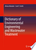 Book Cove: Dictionary of Environmental Engineering and Wastewater Treatment