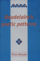 Baudelaire's Poetic Patterns