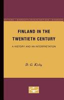 Finland in the Twentieth Century