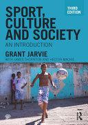 Sport, Culture and Society Pdf/ePub eBook
