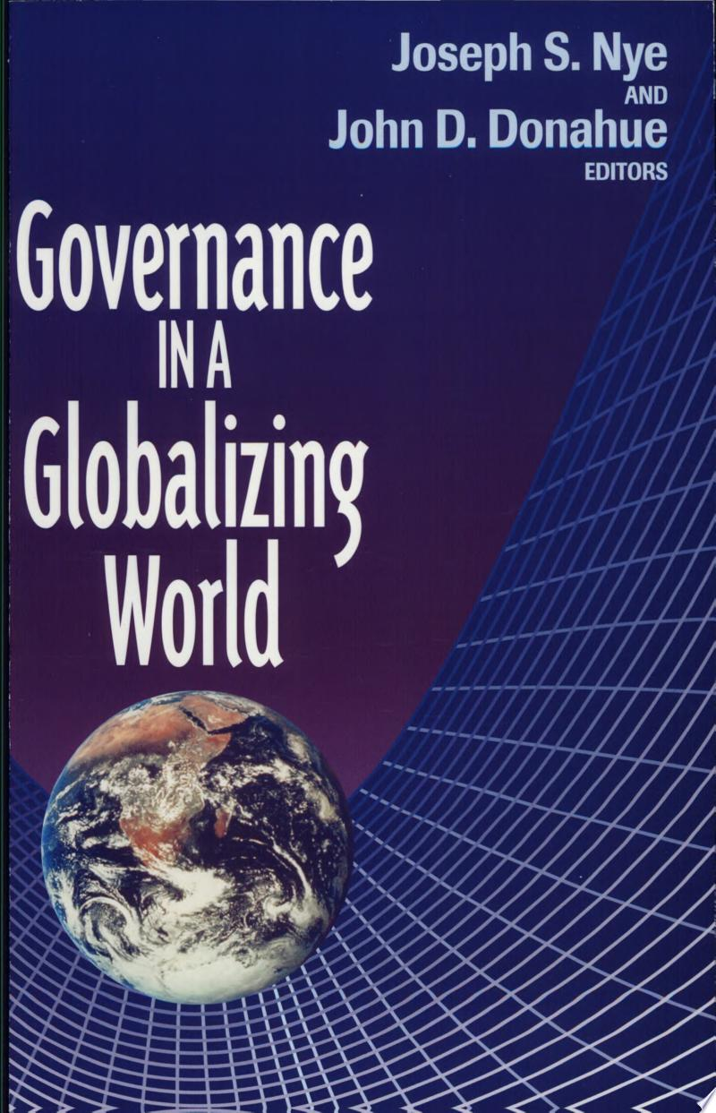 Governance in a Globalizing World banner backdrop