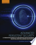 Advanced Persistent Security Book