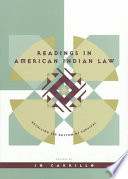 Readings In American Indian Law