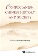 Confucianism  Chinese History and Society