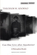 Pdf Can One Live After Auschwitz?