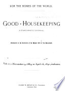 Good Housekeeping Book