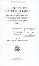 United States Statutes at Large Book