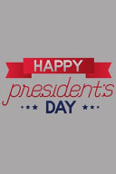 President Day Notebook Book PDF