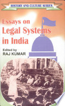 Essays on Legal Systems in India