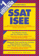 Barron s how to Prepare for High School Entrance Examinations  SSAT  ISEE Book