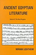 Ancient Egyptian Literature  The new kingdom