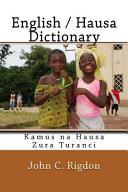 English / Hausa Dictionary