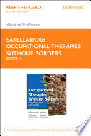 Occupational Therapies Without Borders E Book
