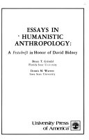 Essays in Humanistic Anthropology