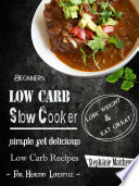 Beginners Low Carb Slow Cooker Book PDF