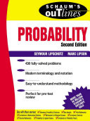 Schaum s Outline of Probability  2nd Edition