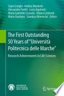 The First Outstanding 50 Years of    Universit   Politecnica delle Marche