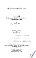 Slam The Influence Of S L A Marshall On The United States Army