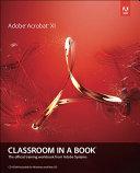 Pdf Adobe Acrobat XI Classroom in a Book Telecharger