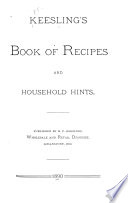Keesling's Book of Recipes and Household Hints Pdf/ePub eBook