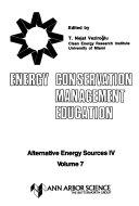 Alternative Energy Sources IV  Energy conservation