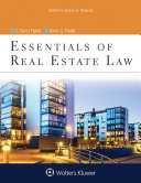 Essentials of Real Estate Law Pdf/ePub eBook