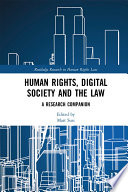 Human Rights Digital Society And The Law