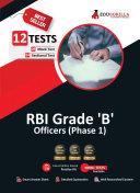 RBI Officer Grade B  Phase 1  Vol  1 2021   Preparation Kit of 8 Full length Mock Test