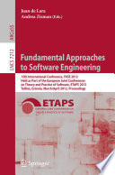 Fundamental Approaches to Software Engineering Book