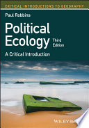 Political Ecology Book