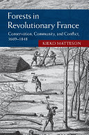 Forests in Revolutionary France