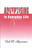 Advertising in Everyday Life Book