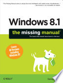 Windows 8 1  The Missing Manual