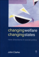 Changing Welfare  Changing States