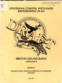 Louisiana Coastal Wetlands Restoration Plan