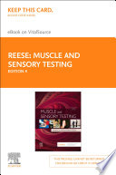 Muscle and Sensory Testing   E Book Book