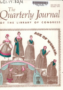 Quarterly Journal of Current Acquisitions