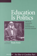 Education is Politics