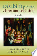 Disability in the Christian Tradition Book