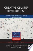 Creative Cluster Development Book