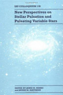 New Perspectives on Stellar Pulsation and Pulsating Variable Stars