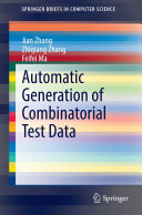 Automatic Generation of Combinatorial Test Data