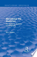 Herodotos the Historian  Routledge Revivals  Book
