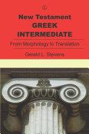 New Testament Greek Intermediate