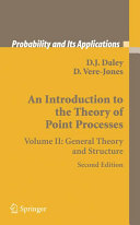 An Introduction to the Theory of Point Processes