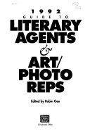 Guide To Literary Agents Art Photo Reps
