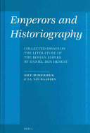 Emperors and Historiography